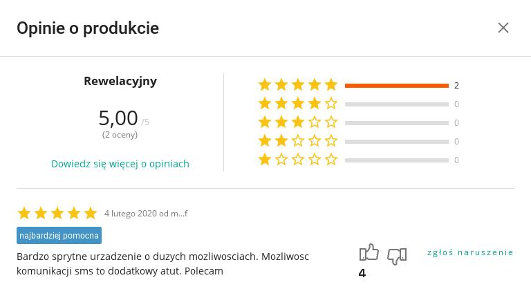 Opinia o produkcie SecretCalc z Allegro